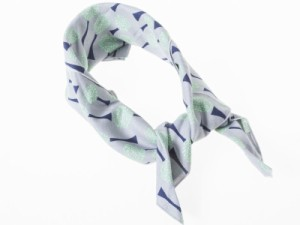 男女兼用 ファッション スーツ カジュアル ビジネス スカーフ 正方形 60*60cm#木/グレー 送料込