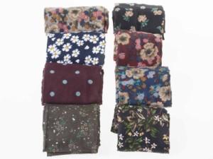男女兼用 ファッション スーツ カジュアル ビジネス スカーフ 正方形 60*60cm#水玉/レッド【新品/送料込み】