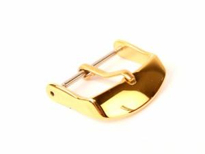ステンレス製 交換用 汎用タイプ 腕時計 尾錠 金具 ゴールド#22mm 送料込