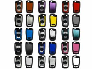 BMW F30 F35 F20 F10 F18 F07/新1・3・5シリーズ専用リモコンキーシール/スキンシール/デコシール#グレー