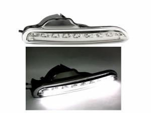 ポルシェ ボクスター 987 LED バンパー ランプ DRL デイライト フォグライト