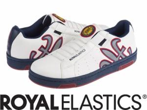 【メーカーお取り寄せ商品】Royal Elastics HYDRA【ロイヤルエラスティクス HYDRA】 メンズ スニーカー 靴 /白+青+赤25.5【新品/送料込み