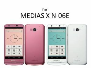 NTT DOCOMO NEC MEDIAS X N-06E液晶保護フィルム・シート【クリアタイプ】 送料込