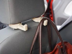 2個セット 車用 シート フック ハング#ブラック【新品/送料込み】