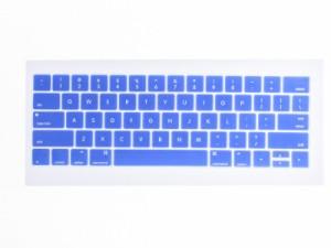 2016 Macbook Pro for Touch Bar 13/15インチ 専用キーボード配列カバー(JIS不適合) #ブルー 送料込