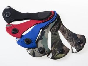 アウトドア 自転車用 多目的ヘッドウェア フェイスマスク/防風 風除け 防寒対策など/お洒落 #レッド