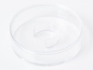 アクセサリー収納など アクリル製 円形 ウォッチケース ジュエルボックス #Lサイズ【新品/送料込み】