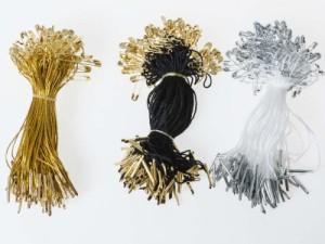 お洋服 ファッション 安全ピン 吊紐 コード 表示タグ 吊札など用 一束約50本入#ゴールド【新品/送料込み】
