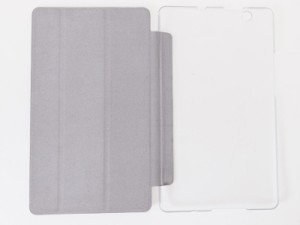 Huawei BTV-W09 BTV-DL09 Media Pad M3(8.4インチ)用 PUレザー 三つ折り スタンド 保護ケース#スカイブルー 送料込