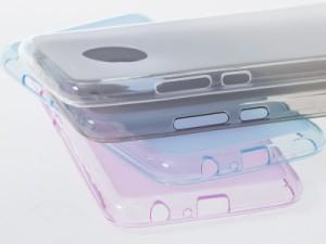 モトローラ Motorola G5 Plus TPU製 セミクリア ソフトケース 保護カバー#レッド