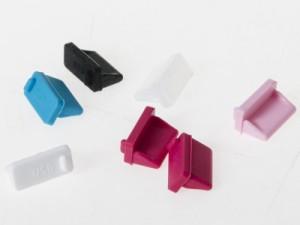 汎用 パソコン ノートパソコン USBメス 防塵 キャップカバー/コネクタカバー/ホコリカバー #ピンク