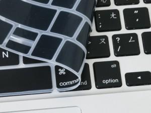 2016 Macbook Pro with touch bar 13/15インチ用 キーボード配列カバー/JIS不適合/黒地#トルコ語 送料込