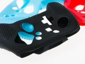 ニンテント スイッチ Pro コントローラー用 シリコンカバー#レッド【新品/送料込み】