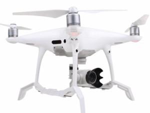 ドローン DJI Phantom 4 Pro用 カメラ レンズフード#レッド