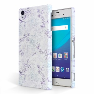 ZenFone4 ZE554KL スマートフォンケース ASUS ZenFone 4 SIMフリー ze554kl カバー ハードケース かわいい キャラ 花