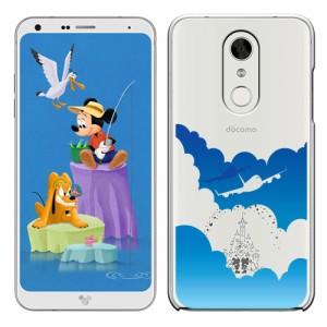 Disney Mobile on docomo dm01kケース カバー DM-01K ディズニーモバイル DM01Kケース ハードケース かわいい キャラ