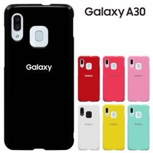 Galaxy A30 ケース ギャラクシーA30 カバー SCV43 スマホケース 衝撃吸収 液晶保護フィルム付 耐衝撃 ハードケース 携帯カバー