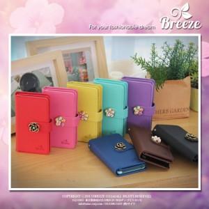 REGZA Phone T-01D/F-08D ケース カバー/ケース スマホケース/スマホカバー/Flower Jewelry/花の宝石/手帳タイプ/手帳型/手