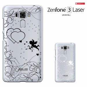 zc551kl カバー zenfone3 laser SIMフリー ASUS ZENFONE 3 LASER 透明 カバー ZC551KL ケース zenfone ハードケース カバー かわいい/き