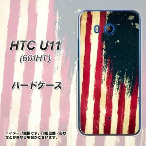 HTC U11 601HT ハードケース / カバー【MI805 ヴィンテージアメリカ 素材クリア】(エイチティーシー U11 601HT/601HT用)