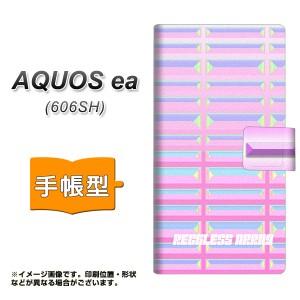 メール便送料無料 AQUOS ea 606SH 手帳型スマホケース 【 YC959 パステルバー 】横開き (アクオスea 606SH/606SH用/スマホケース/手帳式)