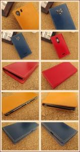 iPhone6 主要機種 全機種対応 手帳型スマホケース 本革 栃木レザー ヌメ革アニリン仕上げ Xperia SOV33 Galaxy SHV35 左利き 右利き