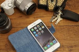 スマホケース Xperia SOV36 全機種対応 手帳型 iPhone8 ケース おしゃれ 岡山デニム 児島デニム ジーンズ 綿100% メール便送料無料