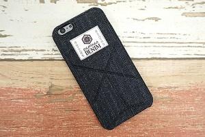 iPhone8 ケース iPhone7 iPhone7PLUS iPhone6s スマホケース スタンド式 岡山デニム まるっと全貼りケース おりがみ メール便送料無料