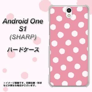 ワイモバイル Android One S1 ハードケース / カバー【IB904 ぶるぶるドット 素材クリア】(アンドロイドワン エスワン/ANDONES1用)