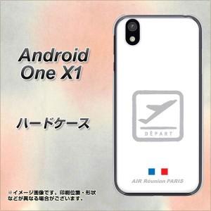 android one X1 ハードケース / カバー【549 AIR-Line-離陸 素材クリア】(アンドロイドワン X1/ANDONEX1用)