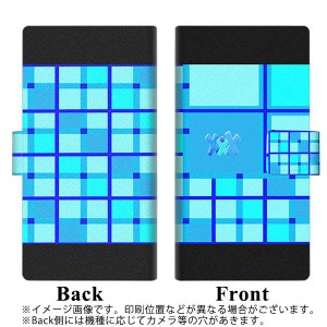 メール便送料無料 ZenFone AR ZS571KL 手帳型スマホケース 【 YB928 タータンブルー 】横開き (ゼンフォンAR ZS571KL/ZS571KL用/スマホケ