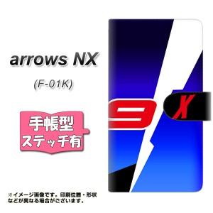 メール便送料無料 arrows NX F-01K 手帳型スマホケース 【ステッチタイプ】 【 YD965 Yワークス03 】横開き (アローズNX F-01K/F01K用/
