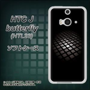 HTC J butterfly HTL23 TPU ソフトケース / やわらかカバー【607 サイエンスコア 素材ホワイト】 UV印刷 (HTC J バタフライ HTL23/HTL23