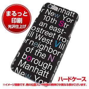 iPhone6 PLUS (5.5インチ) ハードケース【まるっと印刷 538 new-york-カラー 光沢仕上げ】 横まで印刷(アイフォン6 プラス (5.5インチ)/i