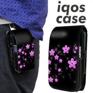 アイコス ケース レザー iQOS ケース 019 桜クリスタル 新型 2.4Plus 対応 ギフト iqos 革 ケース レザーケース メール便送料無料
