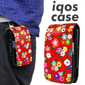 アイコス ケース レザー iQOS ケース 780 リバティプリント RD 新型 2.4Plus 対応 ギフト iqos 革 ケース メール便送料無料