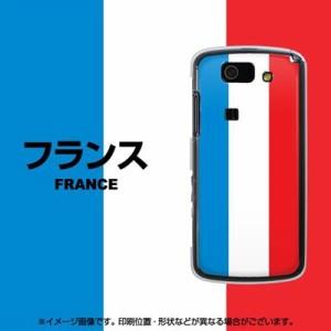 au AQUOS PHONE SL IS15SH ケース / カバー『673 フランス/素材クリア』 UV印刷 両面カバー/