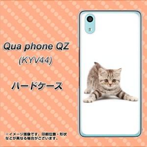au Qua phone QZ KYV44 ハードケース / カバー【462 かまえて 素材クリア】(キュア フォン QZ KYV44/KYV44用)