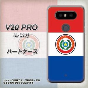 docomo V20 PRO L-01J ハードケース / カバー【VA982 パラグアイ 素材クリア】(docomo V20 PRO L-01J/L01J用)