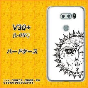 V30+ L-01K ハードケース / カバー【207 太陽神 素材クリア】(V30プラス L-01K/L01K用)