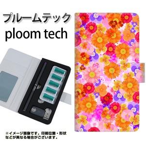 プルームテック ケース 手帳 ploomtech 革 ケース SC869 リバティプリント フルールドパルファン ピンク プルームテック キャリーケース
