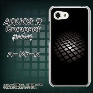 AQUOS R Compact SHV41 ハードケース / カバー【607 サイエンスコア 素材クリア】(アクオスR コンパクト SHV41/SHV41用)