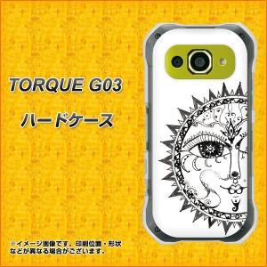 TORQUE G03 ハードケース / カバー【207 太陽神 素材クリア】(トルク G03/TORQUEG03用)
