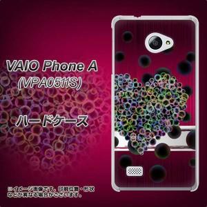 VAIO PhoneA VPA0511S ハードケース / カバー【VA836 悪女のハート 素材クリア】(VAIO PhoneA VPA0511S/VPA0511S用)