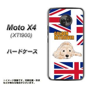 Moto X4 XT1900 ハードケース / カバー【YD825 ゴールデン01 素材クリア】(モト X4 XT1900/XT1900用)