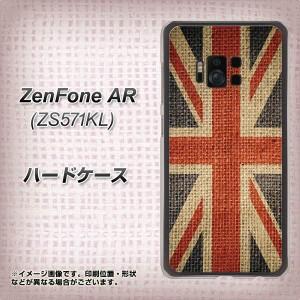 ZenFone AR ZS571KL ハードケース / カバー【VA865 ユニオンジャックOLD 素材クリア】(ゼンフォンAR ZS571KL/ZS571KL用)