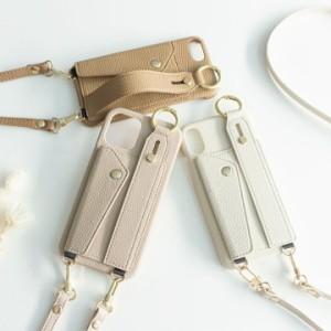 スマホケース iphone se2 多機種対応 ベルト付き ストラップ付 落下防止 カードポケット スタンド機能 ケース メール便送料無料
