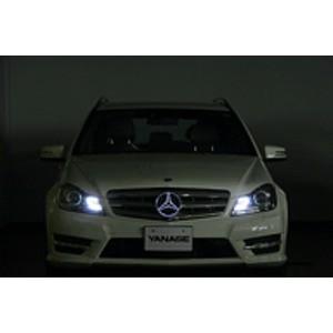 LEDエンブレム イルミネーションプレート ホワイト発光 For メルセデスベンツ  〔送料無料〕