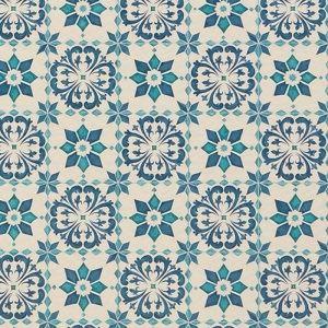 東リ クッションフロアH モロッコタイル 色 CF9003 サイズ 182cm巾×8m 〔日本製〕 〔送料無料〕