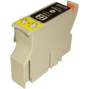 〔エプソン(EPSON)対応〕ICBK22 (ICチップ付)互換インクカートリッジ ブラック 〔5個セット〕 〔送料無料〕